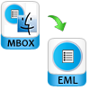 save mbox to eml