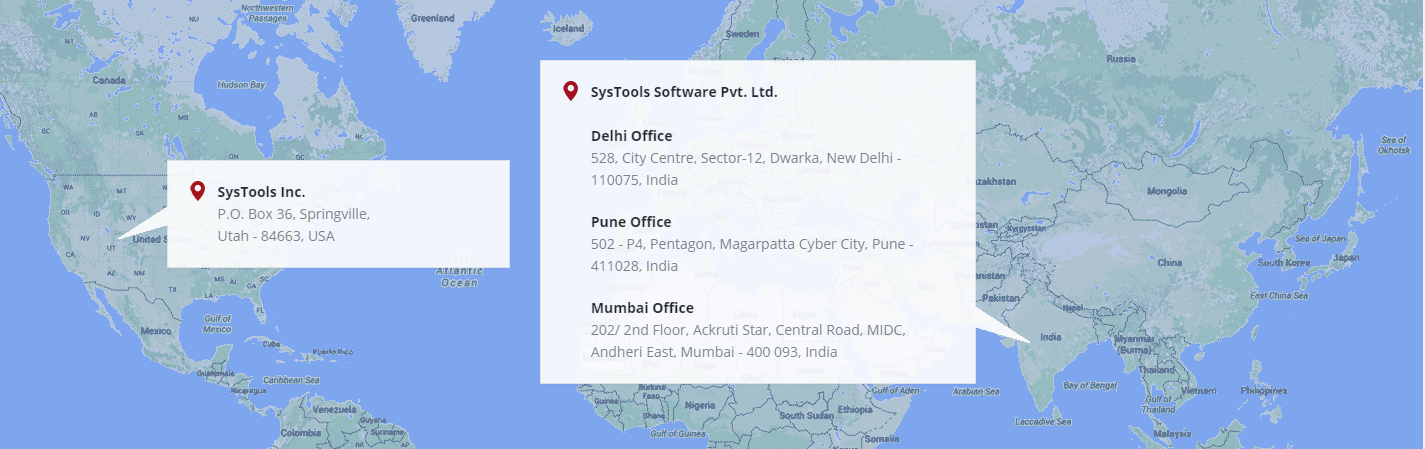 office address and contact info